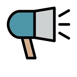 Megaphone - Copyright The Noun Project by unlimicon