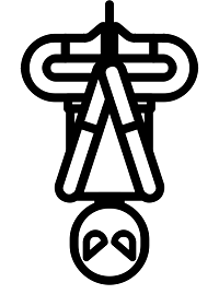 Spiderman - Copyright The Noun Project by athanagore x
